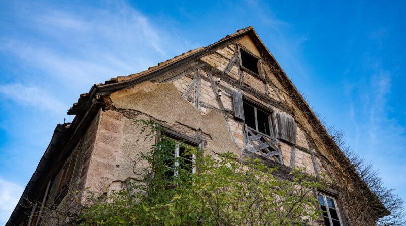 Le Spittelhof dit » Cour Saint Denis «, ancienne colonge à Entzheim – Bas-Rhin