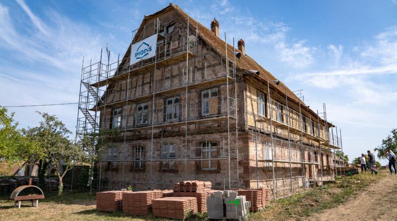 Restauration d'un ancien complexe vinicole – SAS Imodis – Saessolsheim – Bas- Rhin