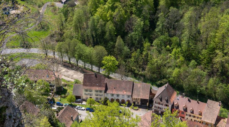 Balade à Ferrette, Haut-Rhin